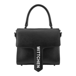 Flap bag, black, 88-4E-432-1, Photo 1