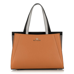 Tote bag, brown-black, 89-4E-506-5, Photo 1
