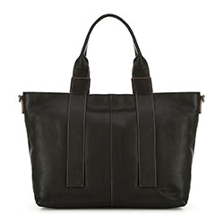 Women's tote bag, black, 91-4E-317-1, Photo 1