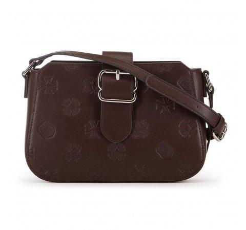 Женская кожаная сумка через плечо 91-4E-611-4