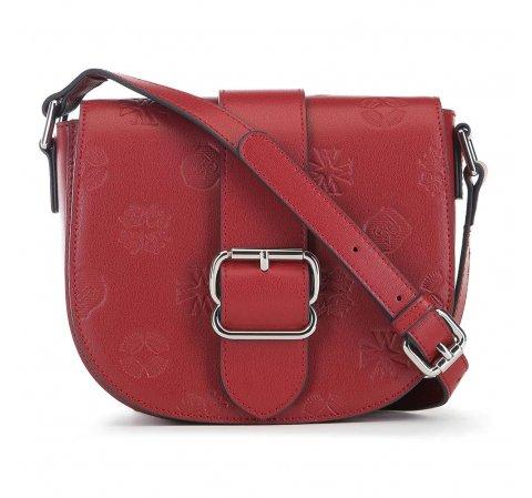 Красная сумка через плечо