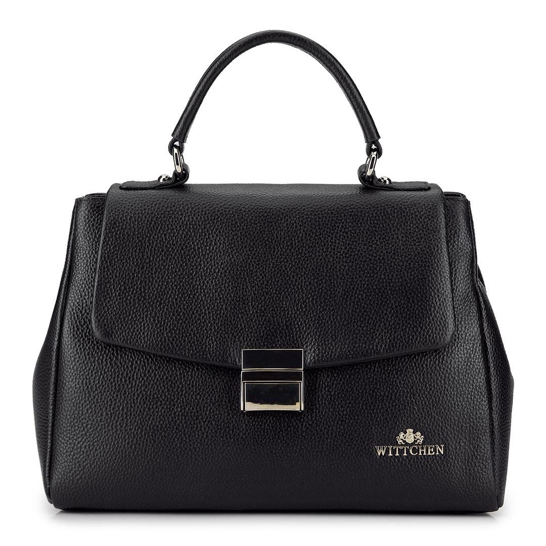 Kožená dámska kabelka.