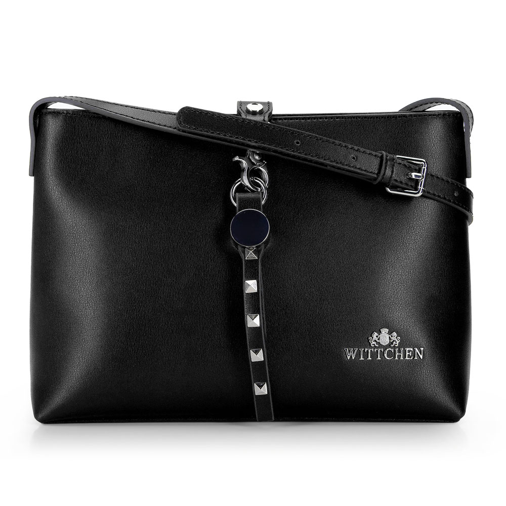 Kožená dámska kabelka 92-4E-608-10