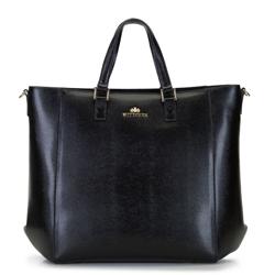 Damska torba z etui na netbooka, czarny, 92-4E-645-01, Zdjęcie 1