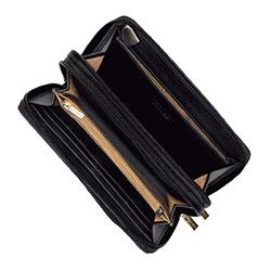 Torebka mini na ramię, czarno - złoty, 92-1Y-583-01, Zdjęcie 1