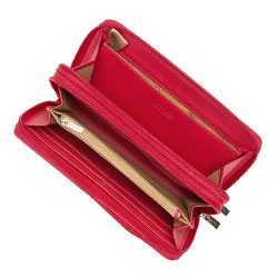 Torebka mini na ramię, czerwony, 92-1Y-583-03, Zdjęcie 1