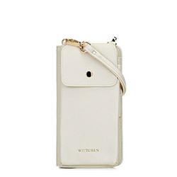 Torebka na telefon i karty, biały, 92-2Y-568-0, Zdjęcie 1