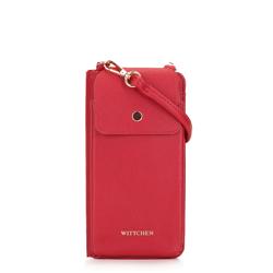 Torebka na telefon i karty, czerwony, 92-2Y-568-3, Zdjęcie 1