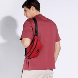 Torebka nerka basic, czerwony, 56-3S-928-35, Zdjęcie 1