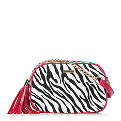 Sling bag, pink-white, 89-4Y-300-X2, Photo 1