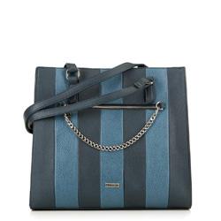 Torebka damska, granatowo - niebieski, 89-4Y-566-N, Zdjęcie 1