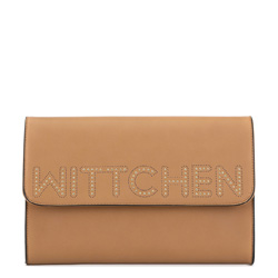 Clutch bag, light brown, 90-4Y-757-5, Photo 1