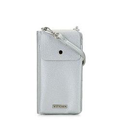 Torebka mini 2 w 1, srebrny, 92-2Y-567-S, Zdjęcie 1