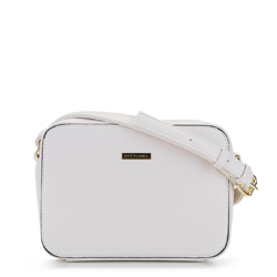 Damska listonoszka pudełkowa prosta, biały, 92-4Y-225-0, Zdjęcie 1