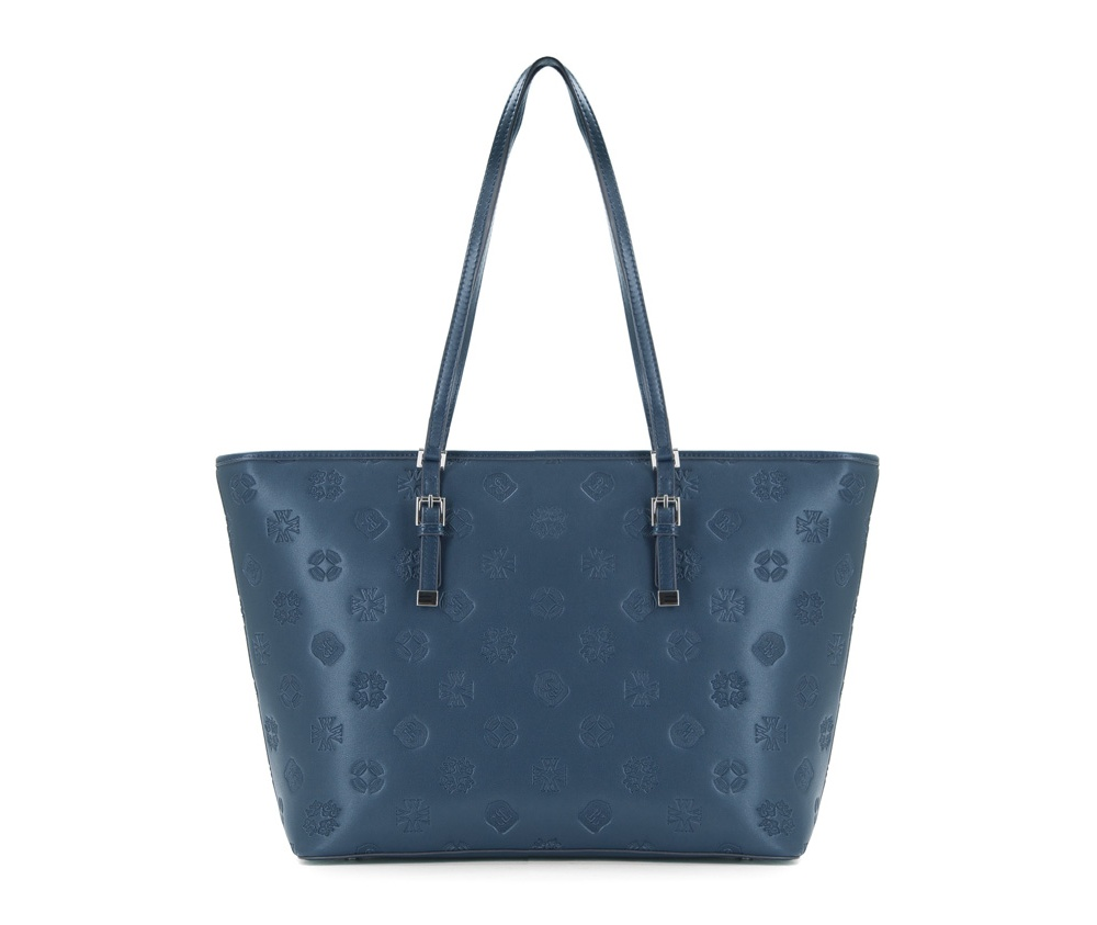 Женская сумкаЖенская сумка из коллекции Elegance&#13;<br>Основной отдел застегивается на молнию, разделен карманом на молнии.Внутридвакармана на молнии, открытый карман для мелких предметов и отделение для мобильного телефона. С тыльной стороны карман на молнии. Дно сумки защищено металлическими ножками.<br><br>секс: женщина<br>вмещает формат А4: поместит формат А4<br>материал:: Натуральная кожа<br>ширина (см):: 28<br>глубина (см):: 34 - 46<br>размеры косметички (см): 13.5<br>общая высота (см):: 56<br>длина ручки/ек (см):: 63