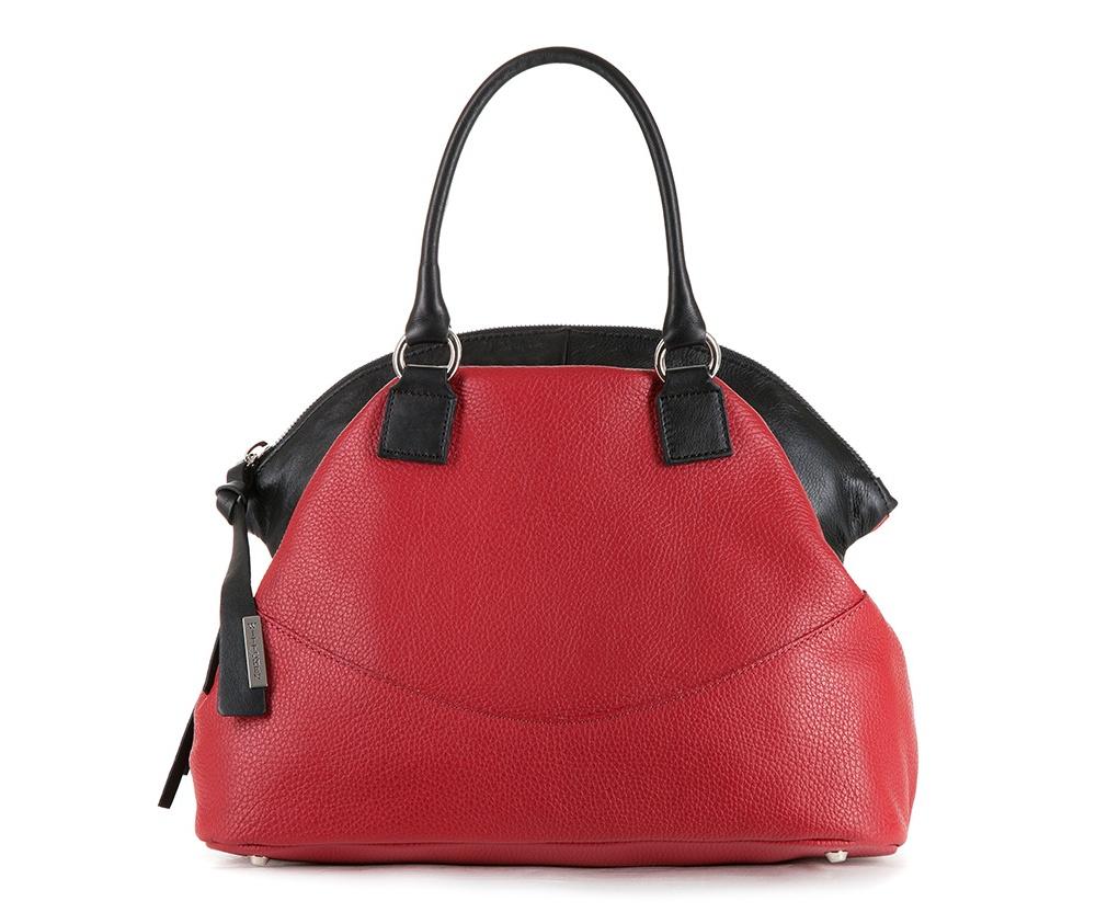 Женская сумкаЖенская сумка из коллекции Elegance&#13;<br>Основной отдел застегивается на молнию. Внутри карман на молнии, открытый карман для мелких предметов и отделение для мобильного телефона. Снаружи карман на молнии. Дно сумки защищено металлическими ножками. Дополнительно прилагается съемный, регулируемый ремешок.<br><br>секс: женщина<br>материал:: Натуральная кожа<br>длина плечевого ремня (cм):: 94 – 106<br>высота (см):: 25 - 37<br>ширина (см):: 36<br>глубина (см):: 16<br>общая высота (см):: 41<br>длина ручки/ек (см):: 43