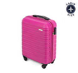 Cabin suitcase, pink, 56-3A-311-34, Photo 1