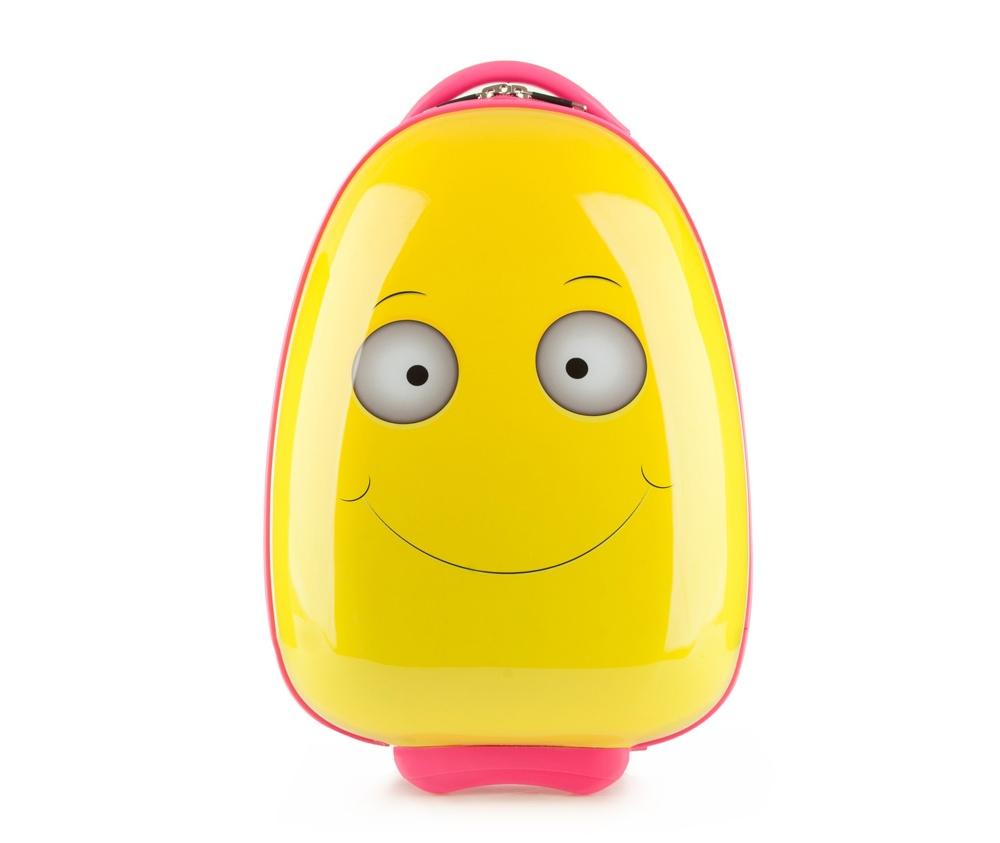 Чемодан детскийЧемодан детский<br><br>секс: None<br>Цвет: желтый<br>материал:: Поликарбонат<br>подкладка:: полиэстр<br>высота (см):: 47<br>ширина (см):: 30<br>глубина (см):: 20<br>размер:: ручная кладь<br>объем (л):: 17<br>вес (кг):: 1,5