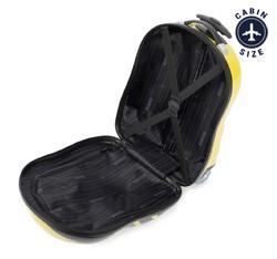 Walizka dla dzieci z ABS-u zwierzak, czarno - żółty, 56-3K-006-B, Zdjęcie 1