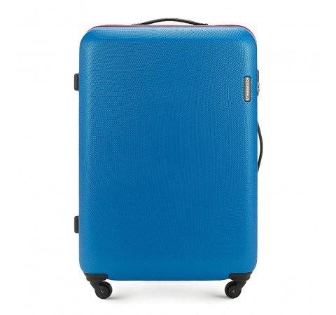c57bff121ff8e Duża walizka na kółkach z ABS | 81x54x28 cm | WITTCHEN 56-3-613
