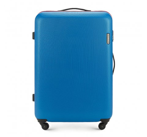 46269852d7c93 Duża walizka na kółkach z ABS