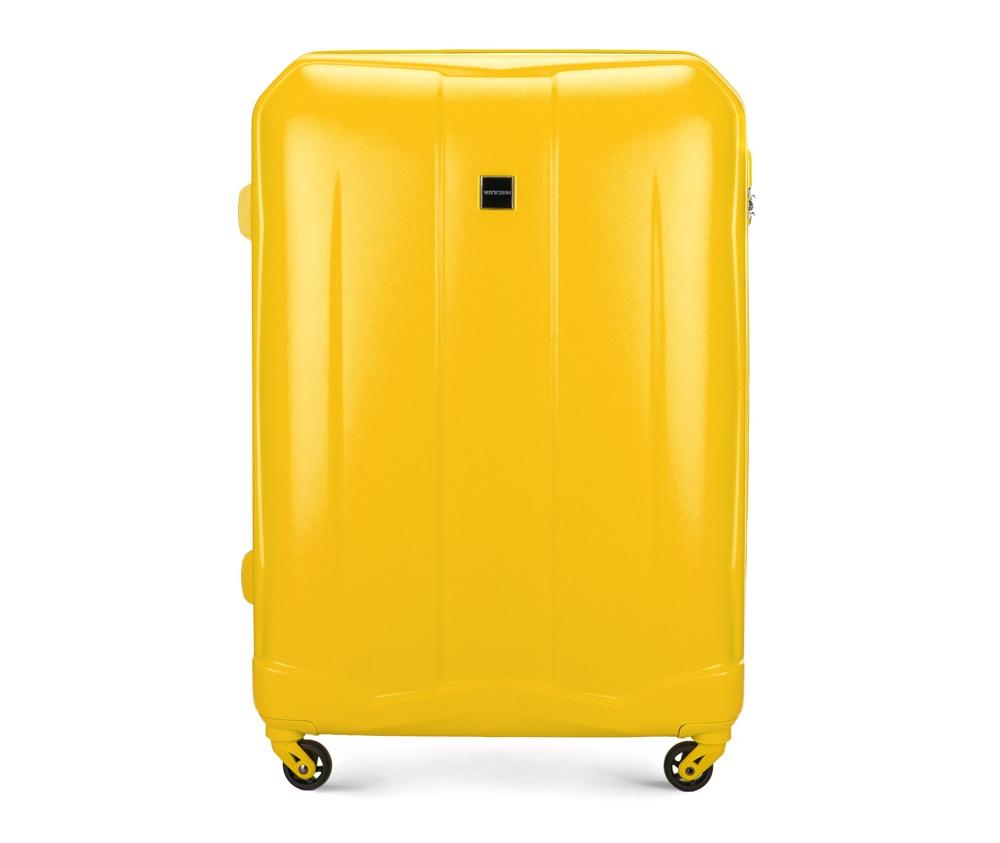 Чемодан на колесиках 28\ Wittchen 56-3A-263-50, желтыйЧемодан на колесиках 28\ Wittchen 56-3A-263-50, желтый<br><br>секс: женщина<br>Цвет: желтый<br>материал:: Поликарбонат<br>высота (см):: 76<br>ширина (см):: 53<br>глубина (см):: 28<br>размер:: большой<br>объем (л):: 94<br>вес (кг):: 4,3