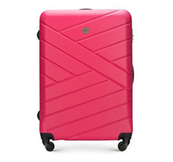 Large suitcase, pink, 56-3A-303-35, Photo 1