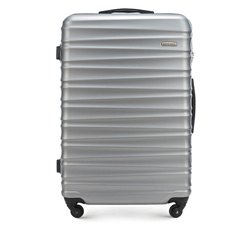 Large suitcase, grey, 56-3A-313-00, Photo 1