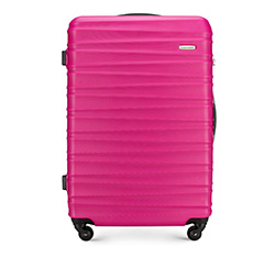 Large suitcase, pink, 56-3A-313-34, Photo 1