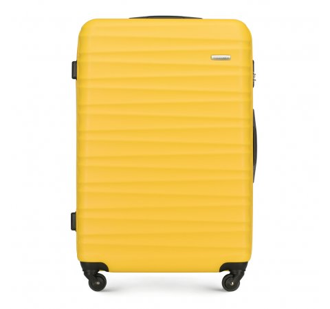 Large suitcase, yellow, 56-3A-313-91, Photo 1