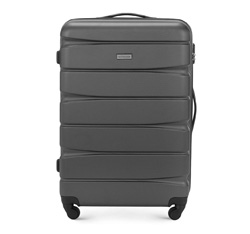 Large suitcase, grey, 56-3A-363-11, Photo 1