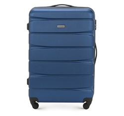 Large suitcase, navy blue, 56-3A-363-90, Photo 1