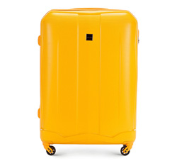 Large suitcase, yellow, 56-3A-373-50, Photo 1