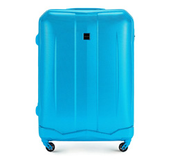 Large suitcase, sky blue, 56-3A-373-77, Photo 1