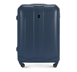 Large suitcase, navy blue, 56-3A-373-90, Photo 1