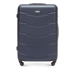 Large suitcase, navy blue, 56-3A-403-90, Photo 1