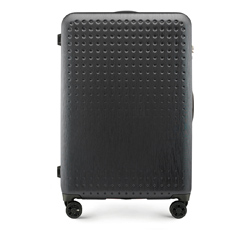 Large suitcase, black-red, 56-3A-413-10, Photo 1