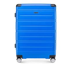 Walizka duża, niebieski, 56-3A-443-90, Zdjęcie 1