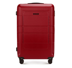 Large suitcase, red, 56-3H-543-30, Photo 1