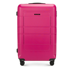 Large suitcase, pink, 56-3H-543-60, Photo 1