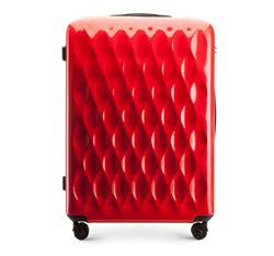 LARGE SUITCASE, red, 56-3H-553-30, Photo 1
