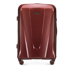 Large suitcase, burgundy, 56-3P-123-35, Photo 1