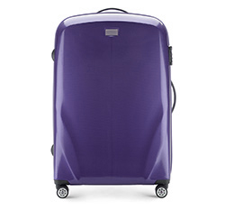 Large suitcase, violet, 56-3P-573-24, Photo 1
