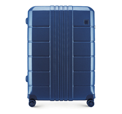 Large suitcase, navy blue, 56-3P-823-90, Photo 1