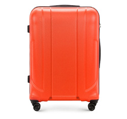Walizka duża, pomarańczowy, 56-3P-863-55, Zdjęcie 1