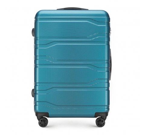 Walizka duża, niebieski, 56-3P-983-96, Zdjęcie 1
