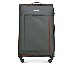 Large suitcase, dark grey, 56-3S-463-01, Photo 1