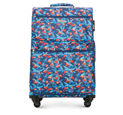 Large suitcase, multicoloured, 56-3S-543-FL, Photo 1
