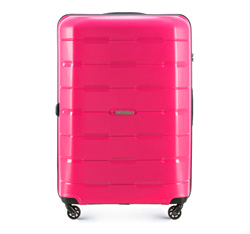 Large suitcase, pink, 56-3T-723-77, Photo 1