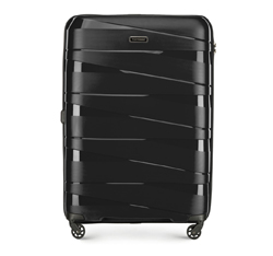 Large suitcase, black, 56-3T-793-10, Photo 1